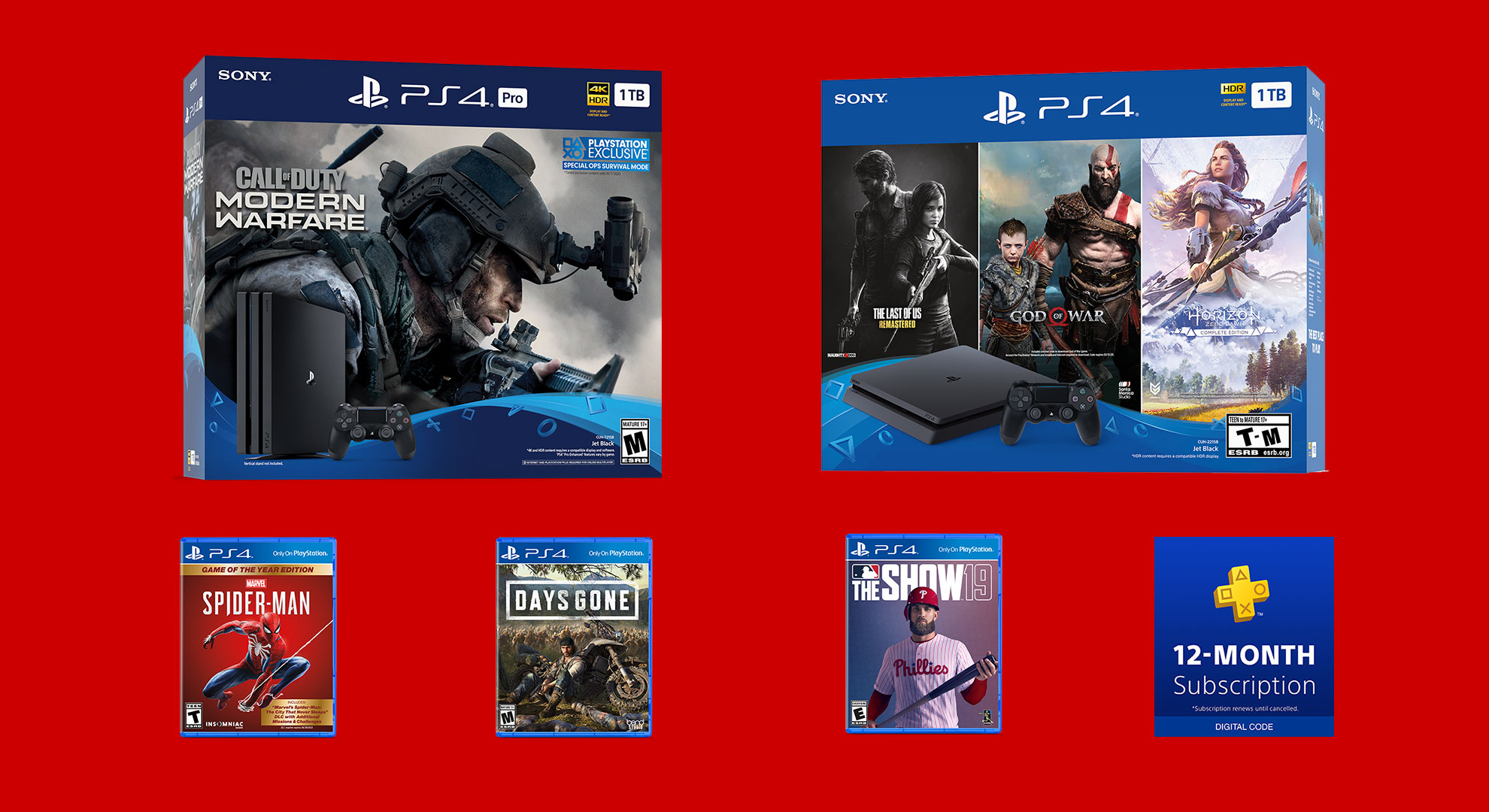 All the PlayStation 4 Black Friday deals that already went live screenshot