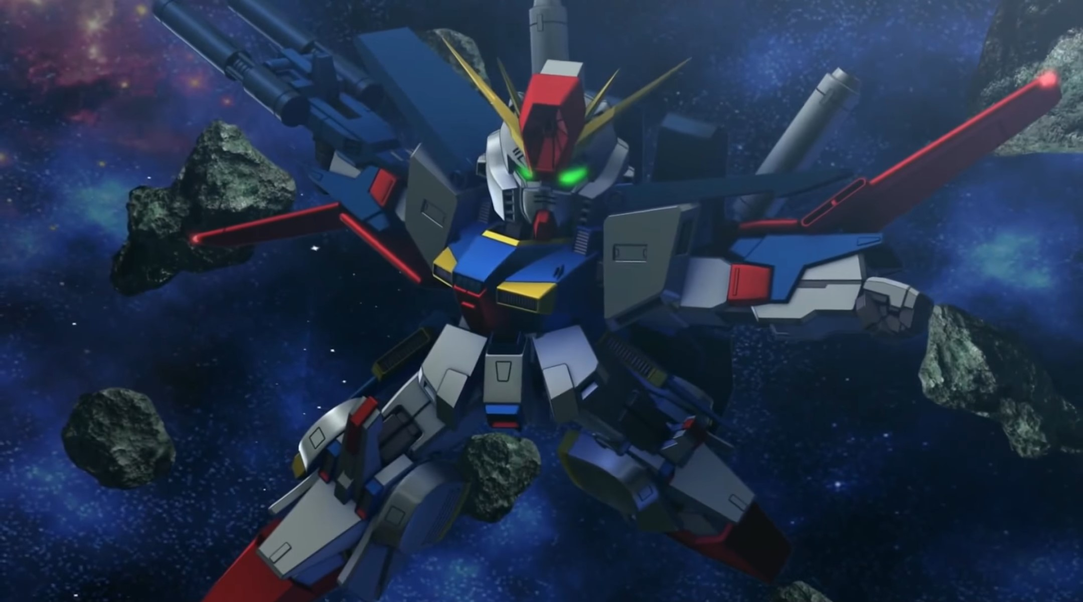 Import Review: SD Gundam G Generation Genesis screenshot