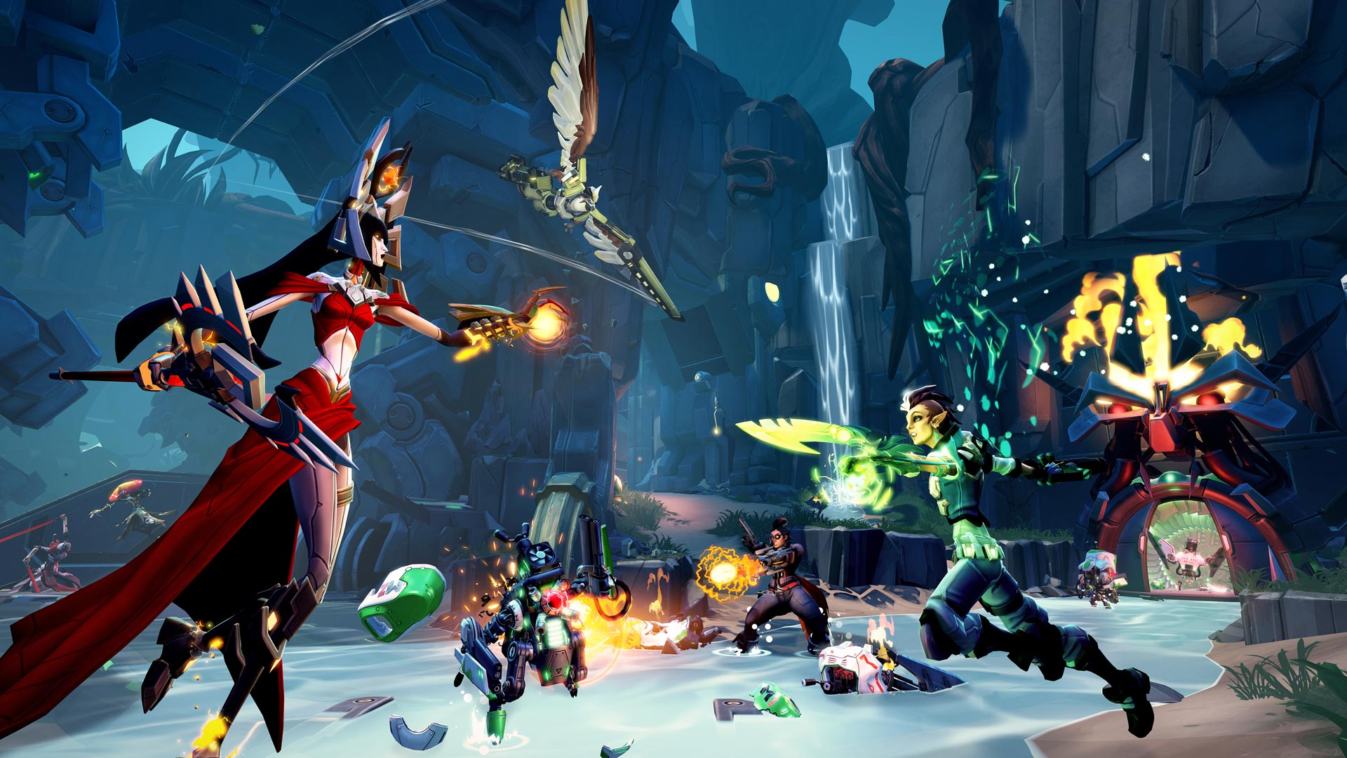 Battleborn's concurrent players will drop from 15 to 0 in 2021 screenshot