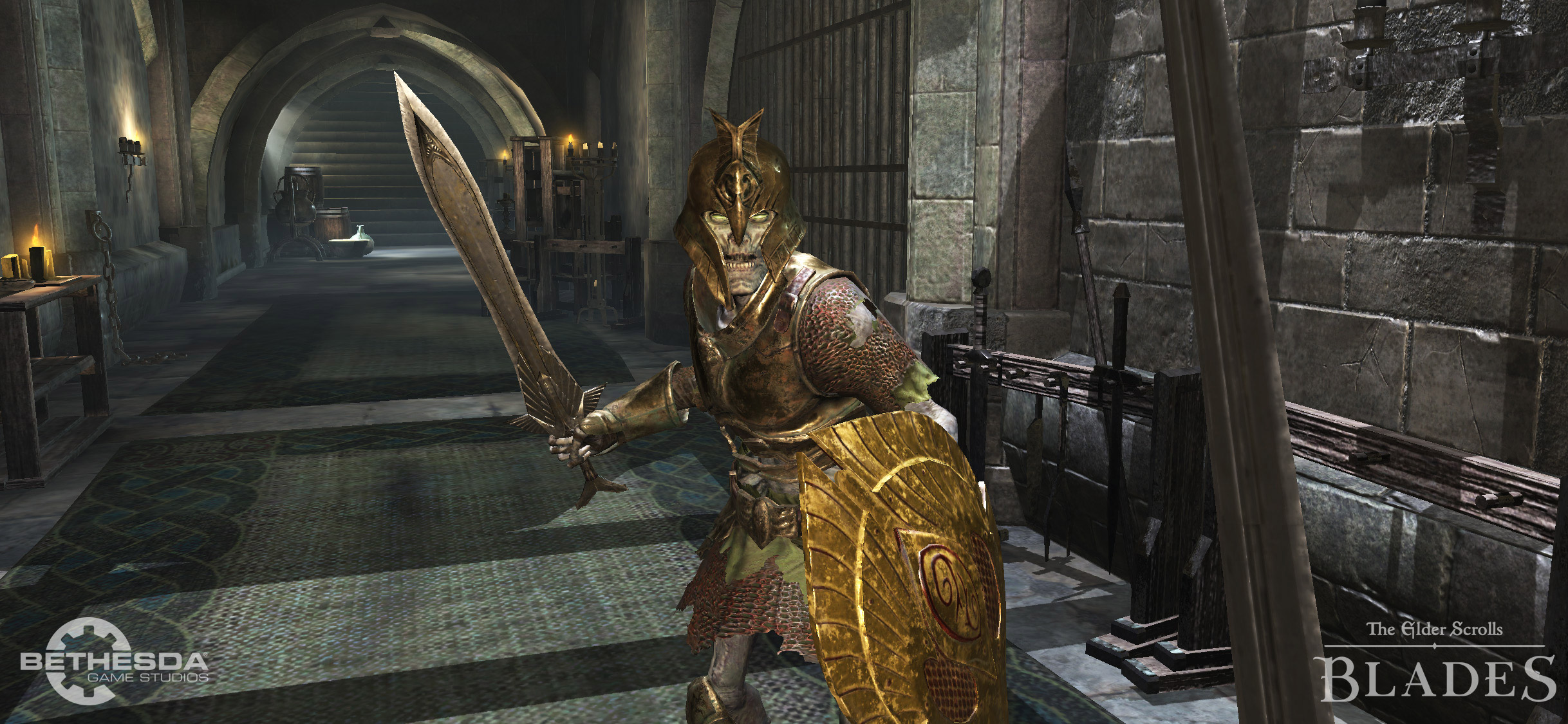 The Elder Scrolls: Blades won't have chest timers on Switch screenshot