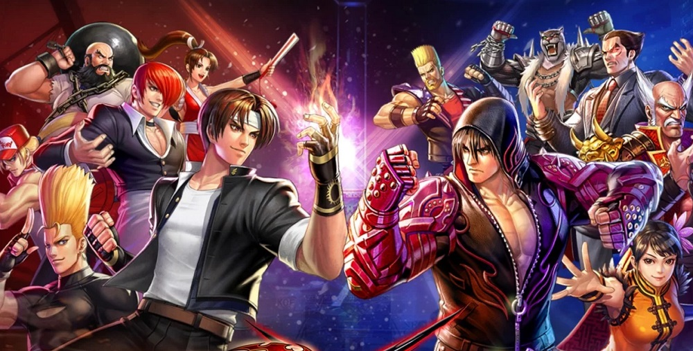 King Of Fighters All Star Mobile Crossing Over With Tekken 7