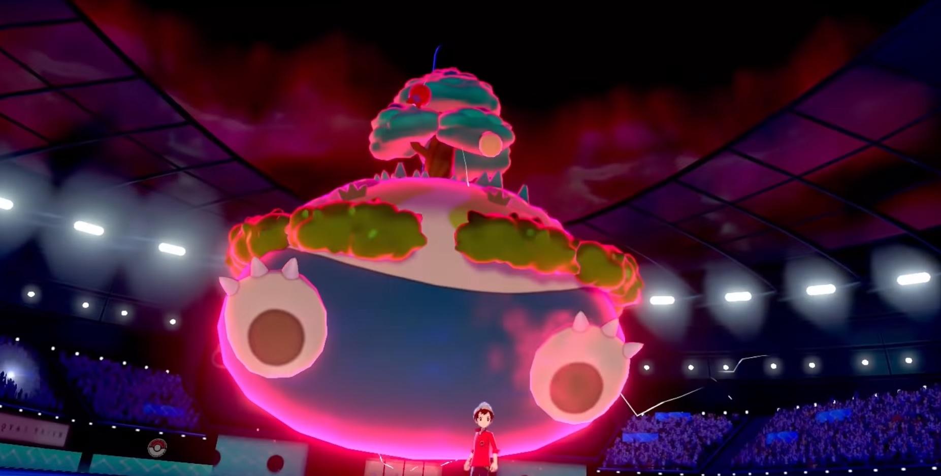 Behold: Pokemon Sword and Shield's Gigantamax Snorlax screenshot