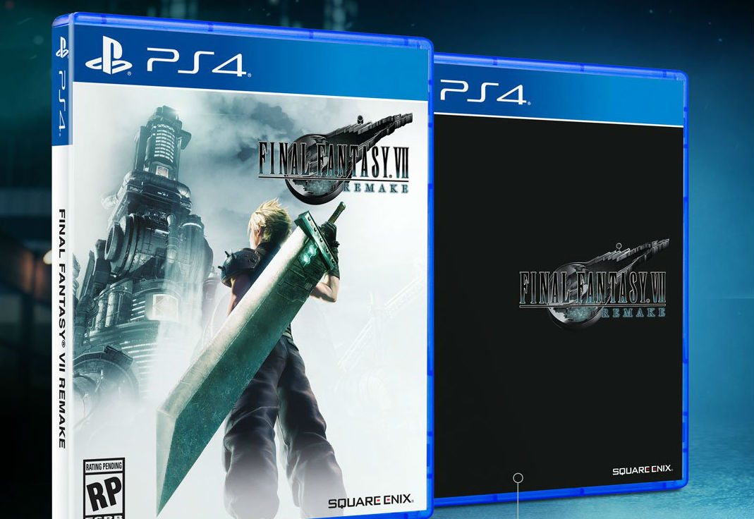 If you don't like the Final Fantasy VII Remake box art don't worry: It's reversible! screenshot
