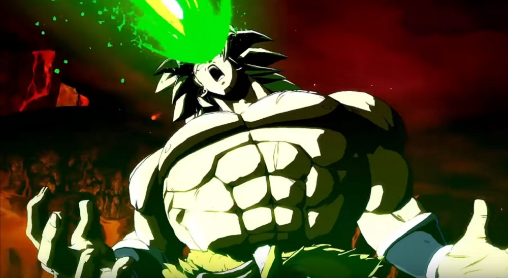 It looks like Broly (DBS) will be hitting Dragon Ball FighterZ next week screenshot