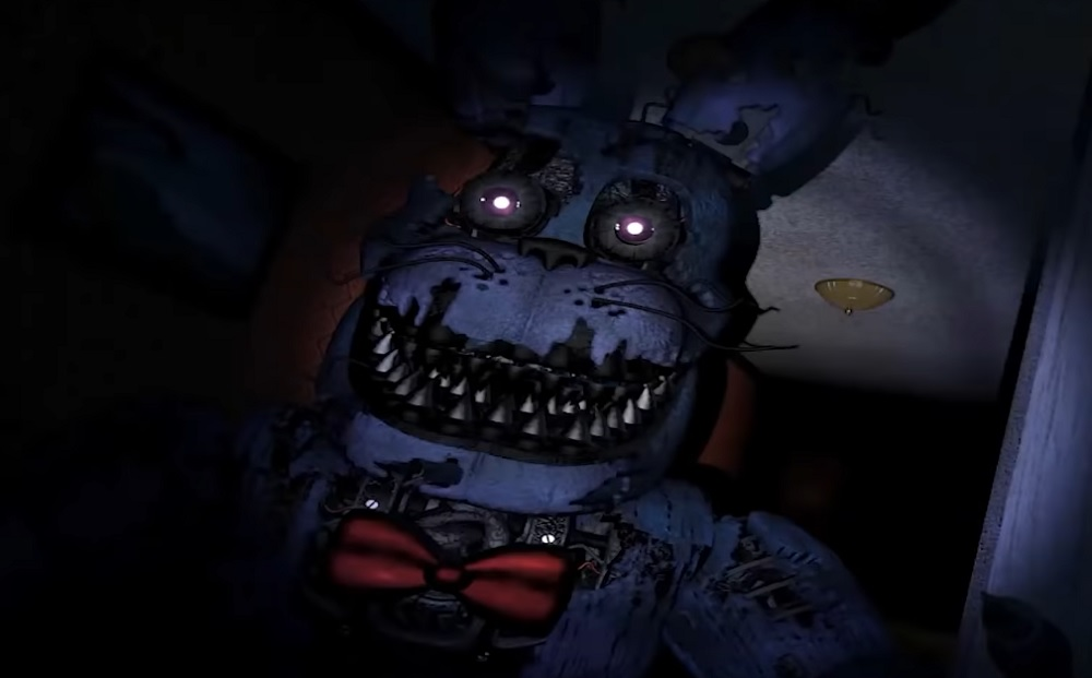 Five Nights at Freddy's quadrilogy scaring up a storm on consoles today screenshot