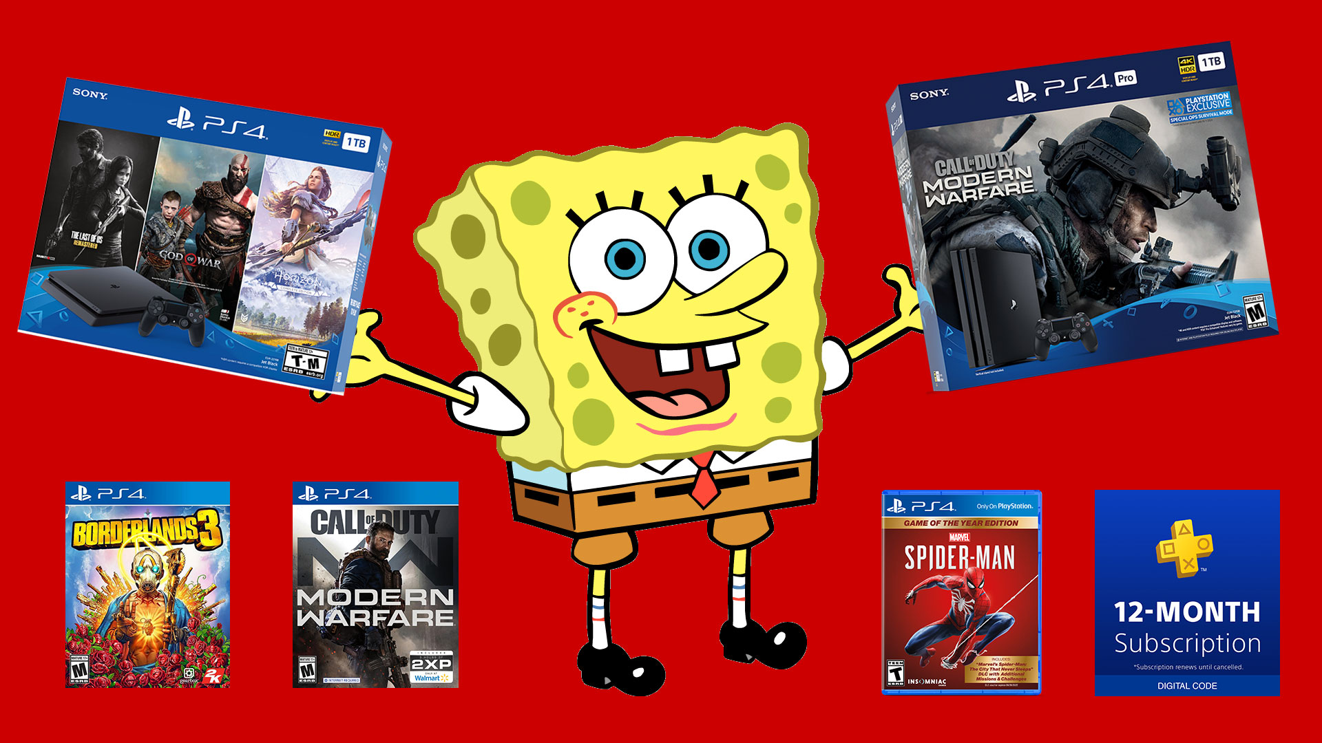 Playstation 4 Black Friday Deals Still Happening Cheap Ps Plus 100 Off Consoles And Games Galore