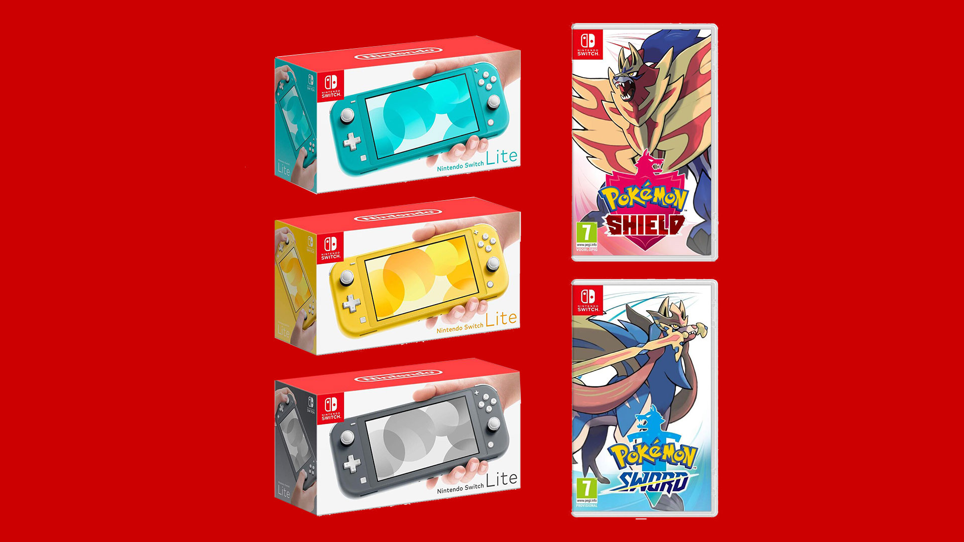 Black Friday $43 Pokemon Shield and Sword, $169 Switch Lite all ends tonight screenshot