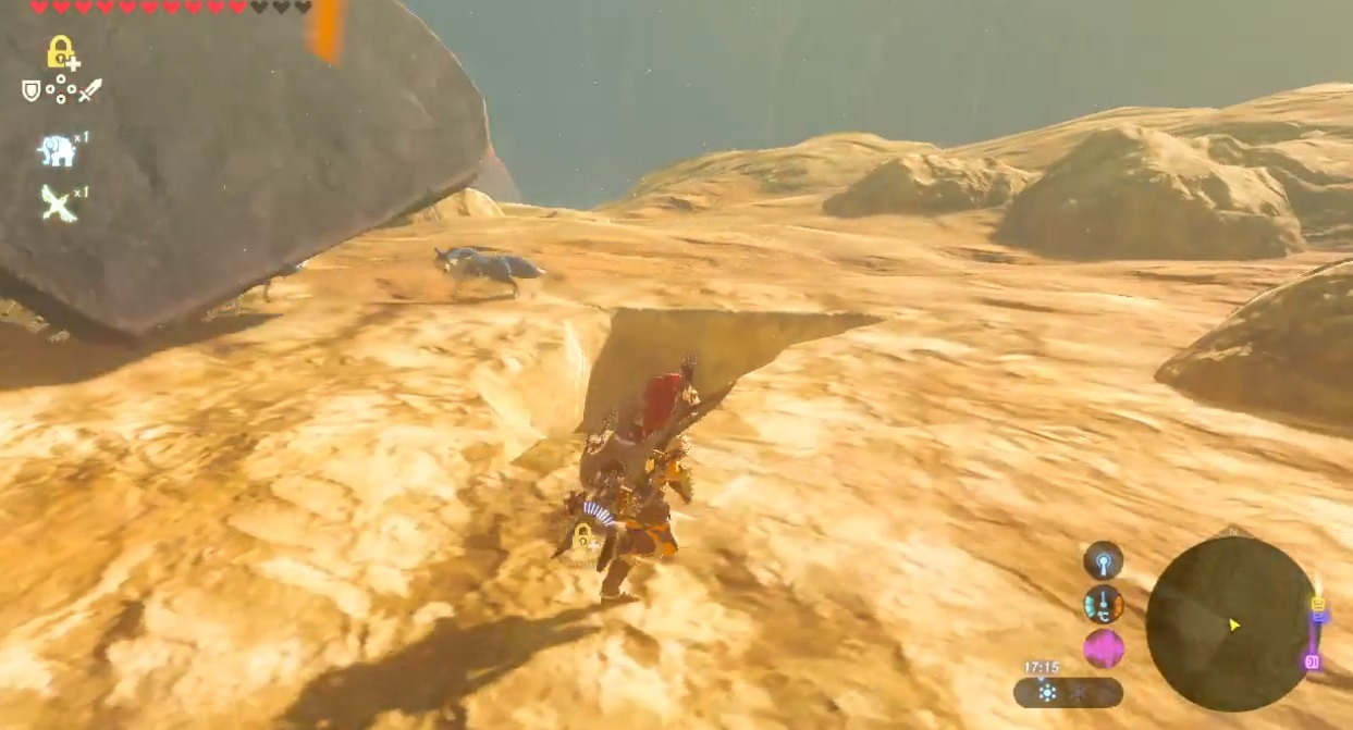 Yep, we aren't done with hilarious Zelda Breath of the Wild videos yet screenshot