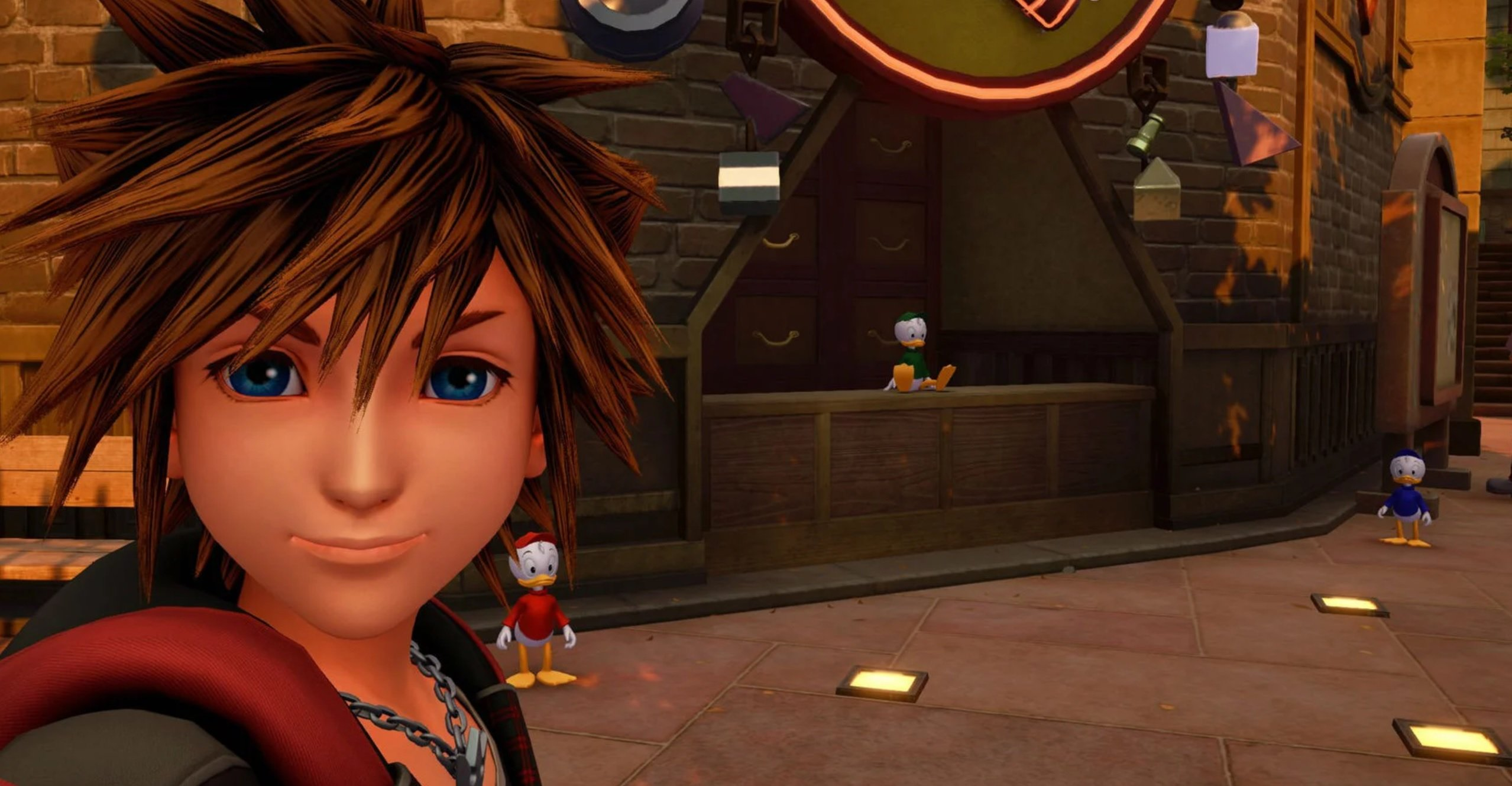 Kingdom Hearts III is getting a greatly expanded photo mode, including a slideshow option screenshot