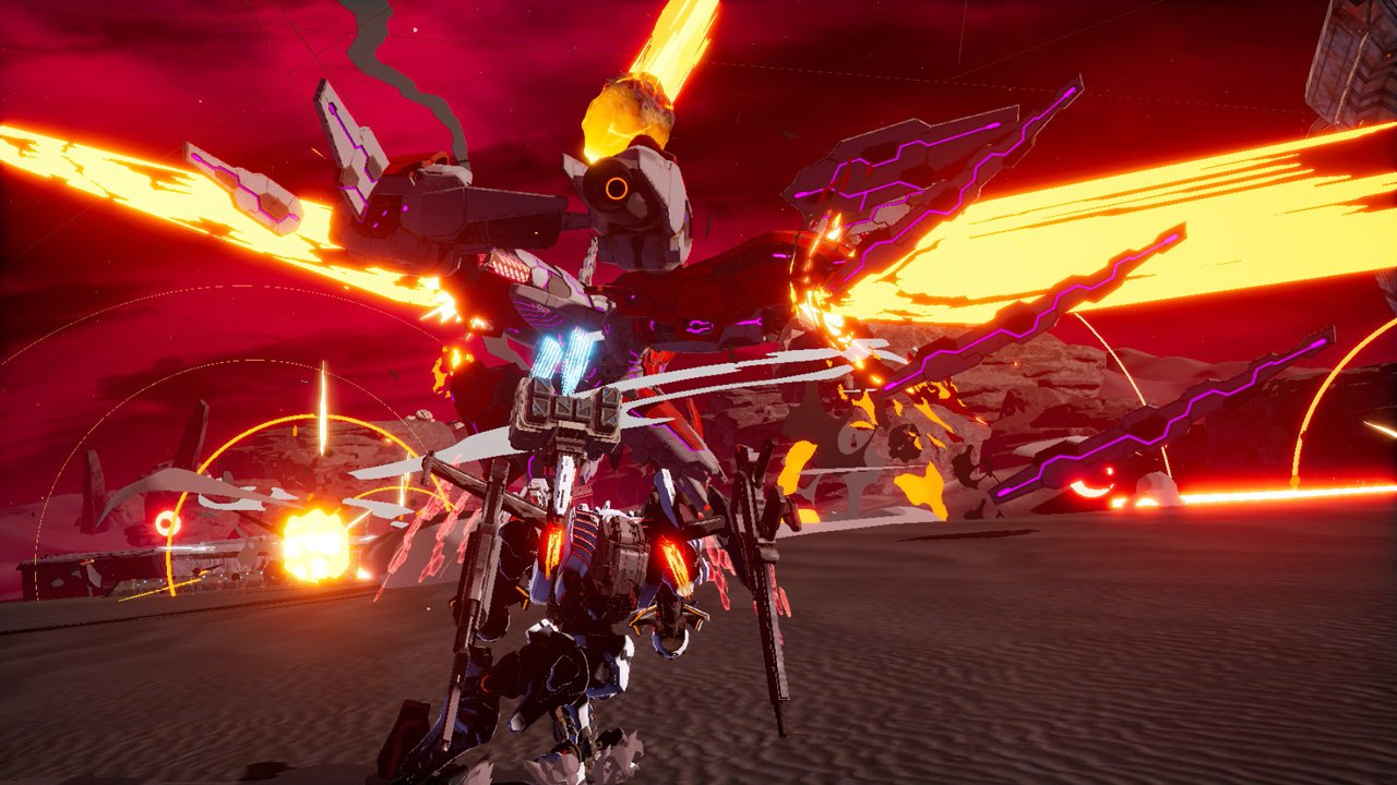 Daemon x Machina is still being updated and it just added a new boss screenshot