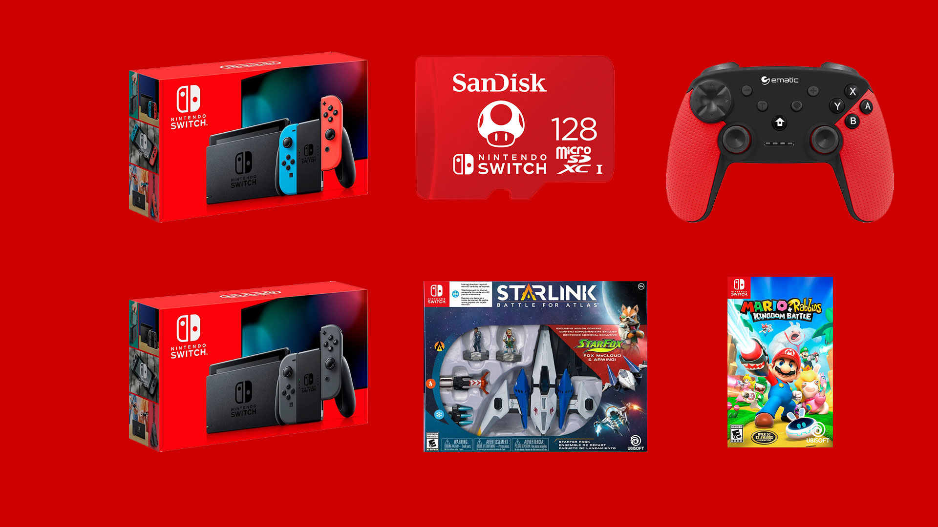 Cyber Monday Nintendo Switch deals are better: free games, SD card, or controllers screenshot