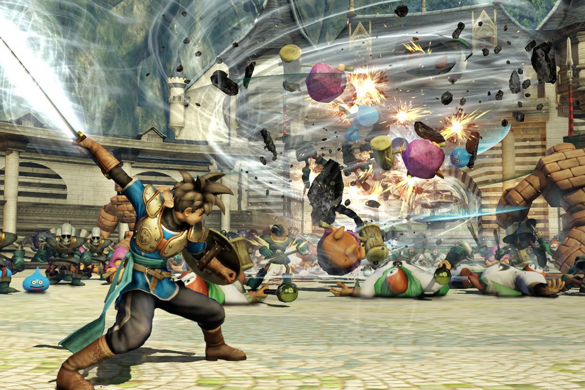 Dragon Quest Heroes boss is hopeful for a third entry, but it would need to wow fans screenshot
