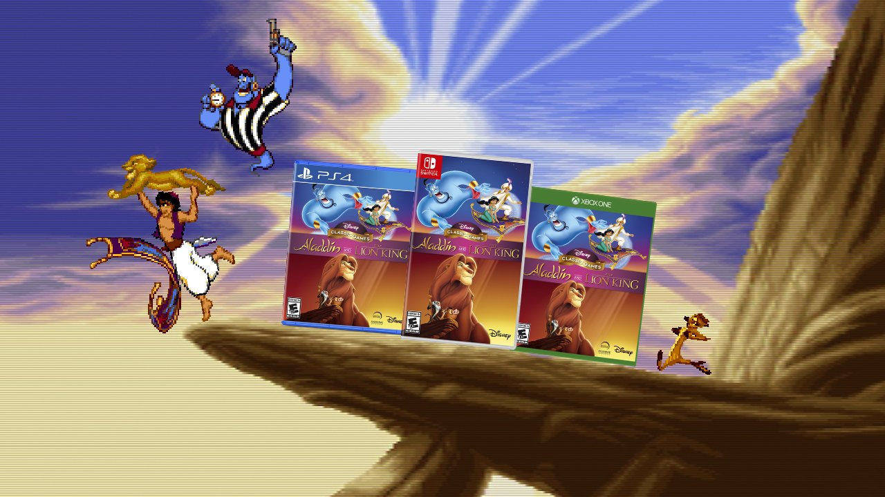 Contest: Experience 16-bit bliss with Disney Classic Games: Aladdin and The Lion King screenshot