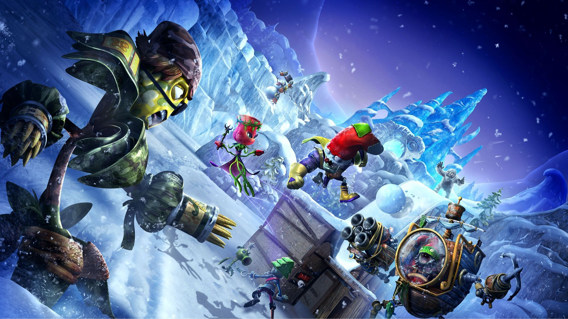EA makes a big financial backing for plants in the Plants vs. Zombies war