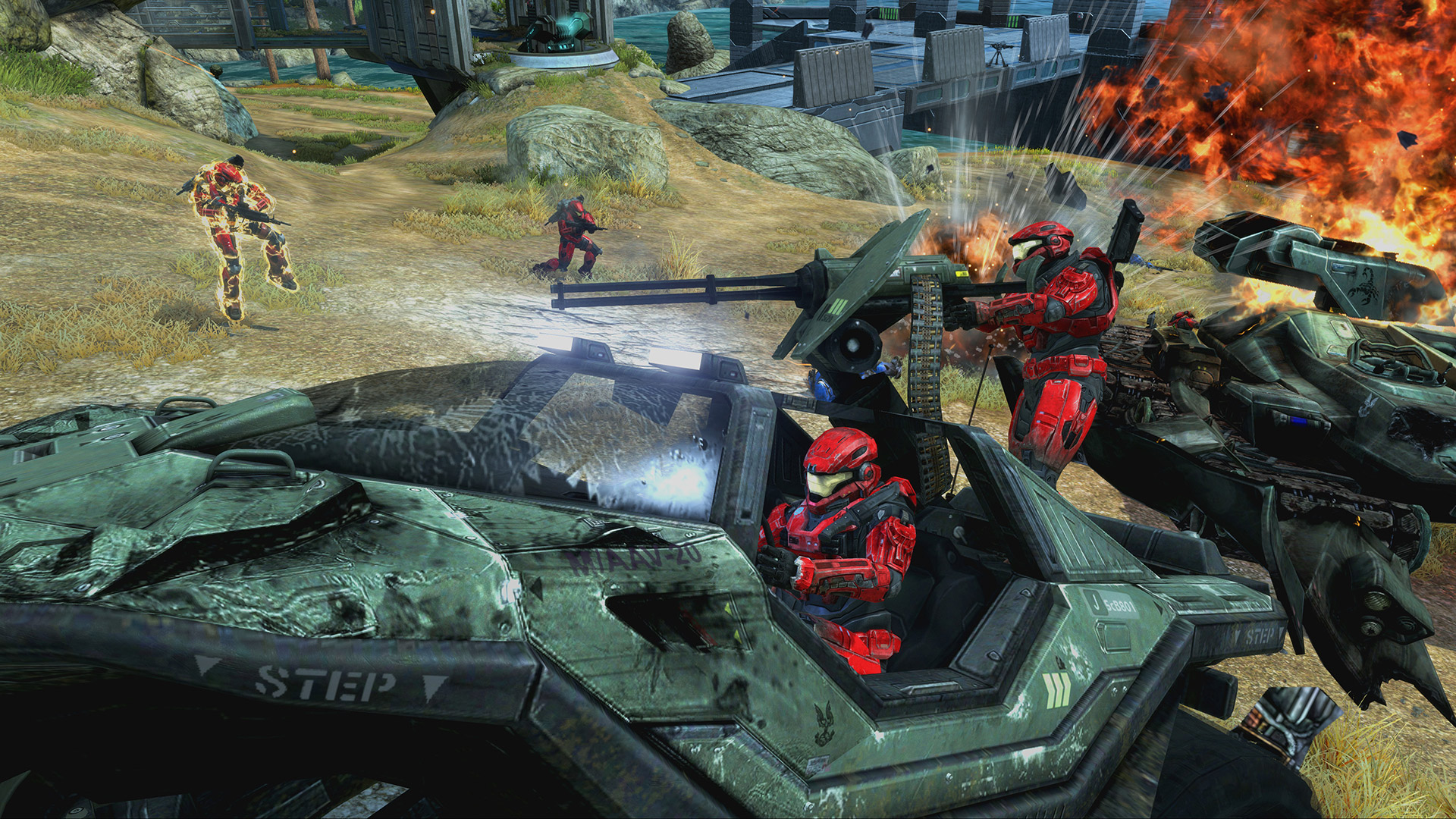 Halo: The Master Chief Collection is climbing up Steam thanks to today's Halo: Reach PC launch
