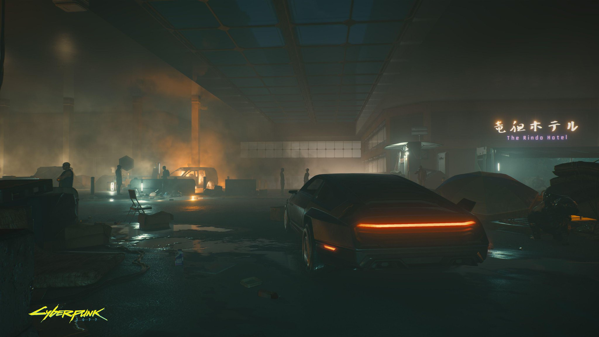 Here is a rudimentary, probably-incomplete, and possibly-inaccurate look at Cyberpunk 2077's map