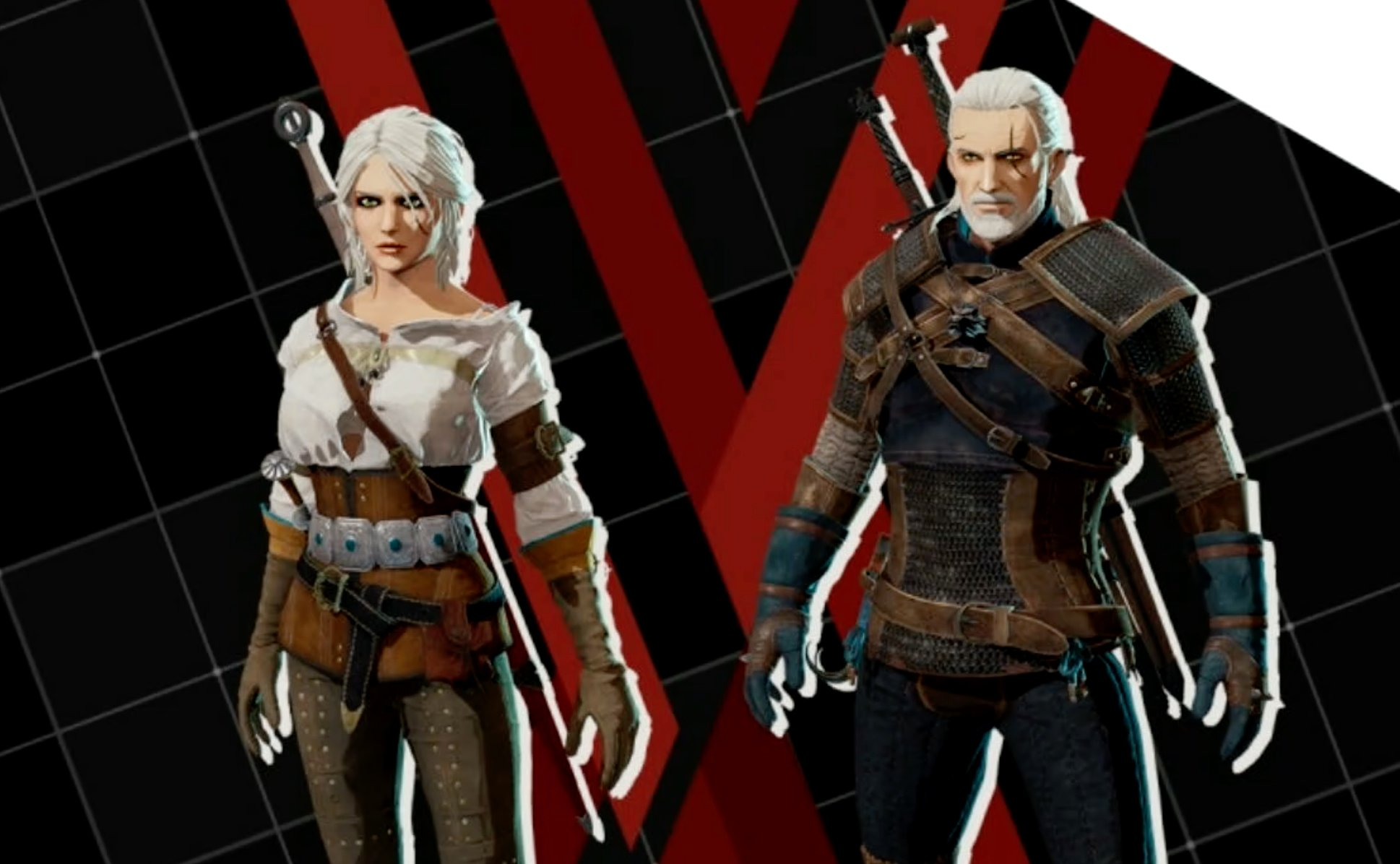 The free skins keep coming as Daemon X Machina adds Geralt and Ciri from The Witcher 3 screenshot