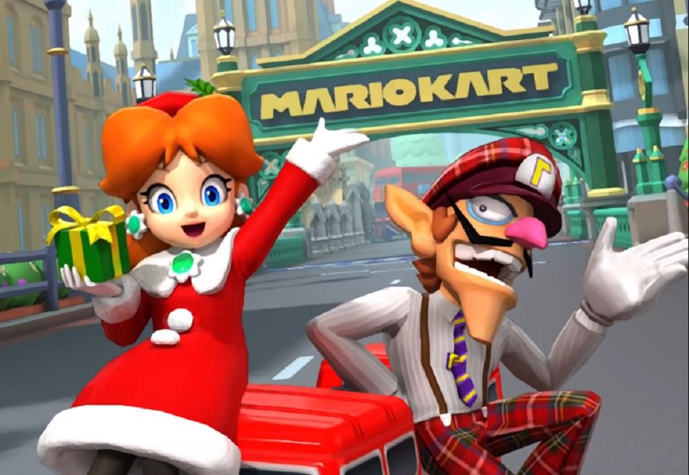 Mario Kart Tour London event includes Waluigi and Holiday Daisy screenshot
