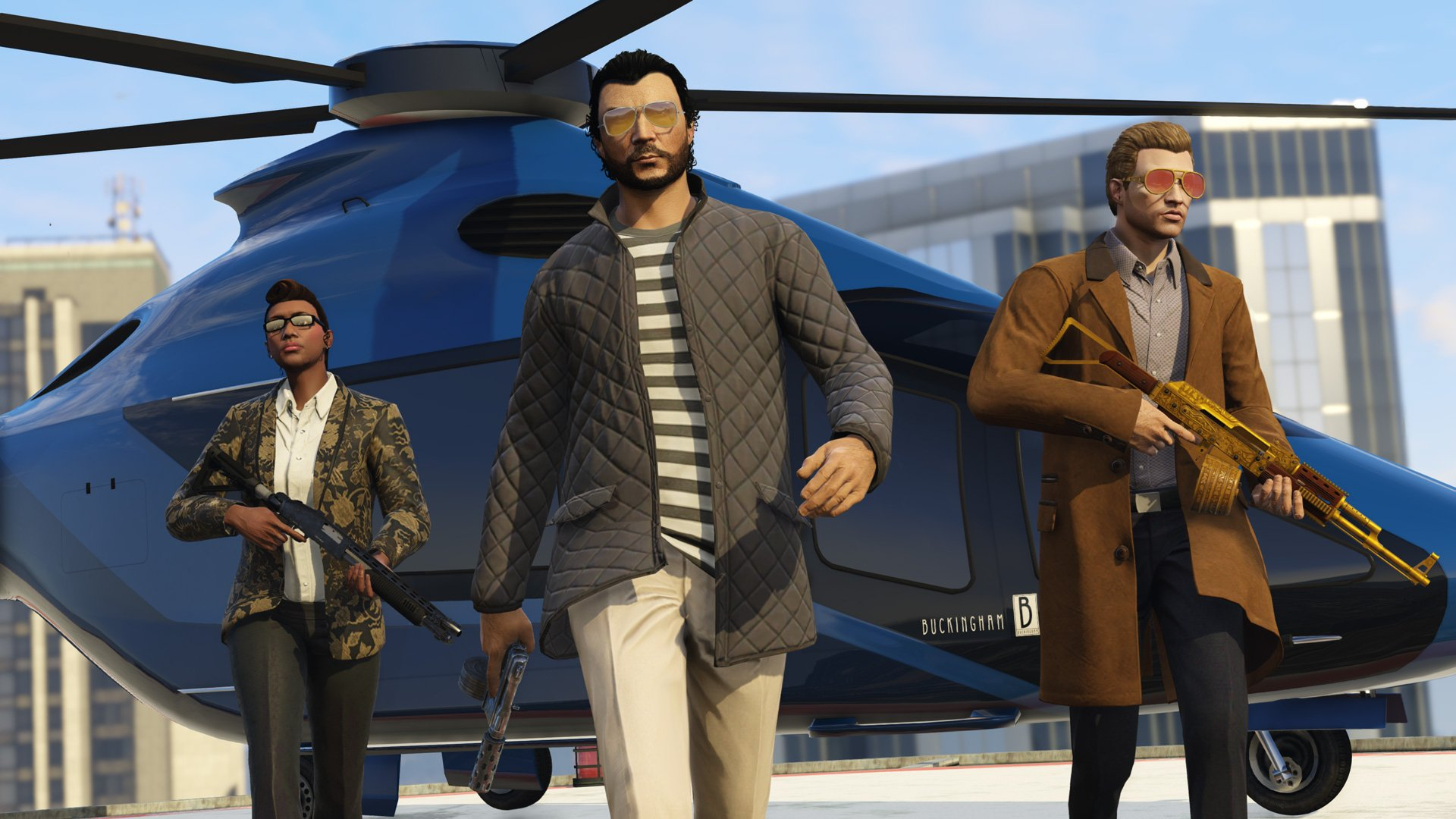 GTA Online has a new approach to Heists, and the first one is a big job screenshot