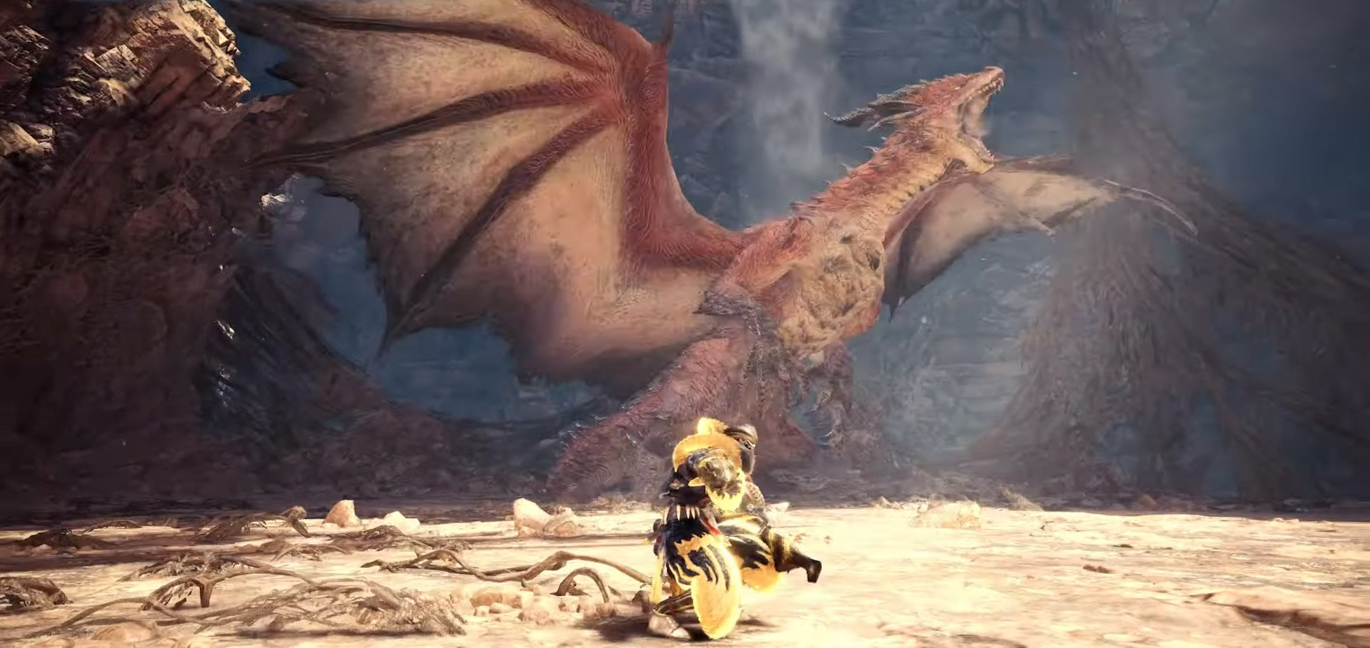 Safi Jiiva Is The New Siege Beast In Monster Hunter World Iceborne
