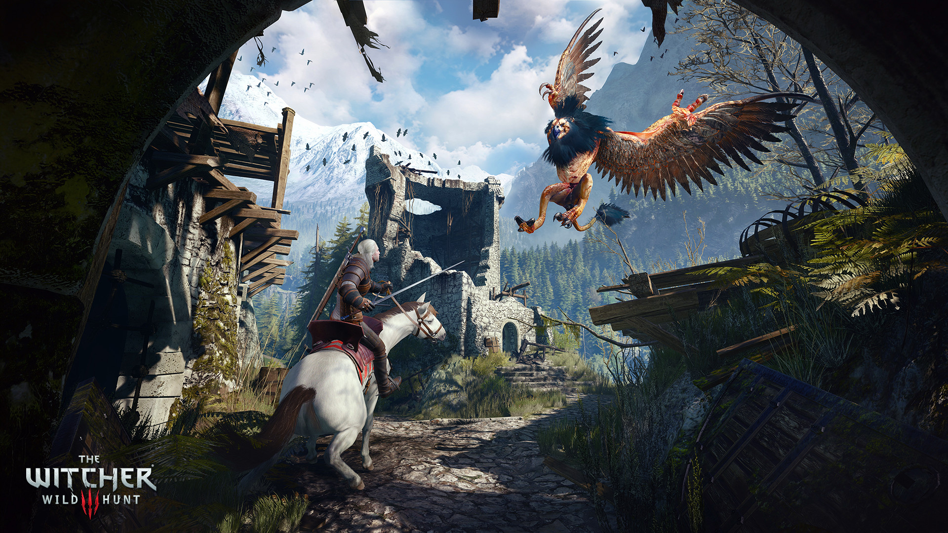 The Witcher 3's Switch port started in super rough shape screenshot
