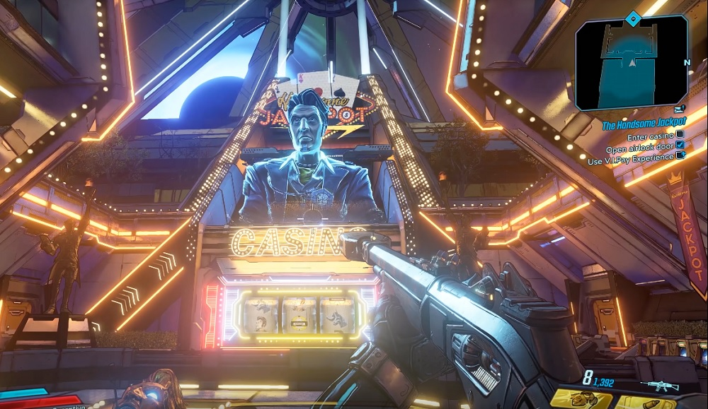Check out the first 13 minutes of Borderlands 3 'Moxxi's Heist' DLC right here screenshot