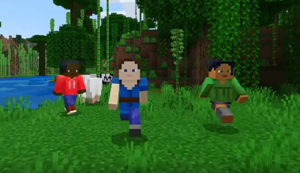 Minecraft Bedrock Edition Hits Ps4 Tomorrow Cross Play Finally Enabled