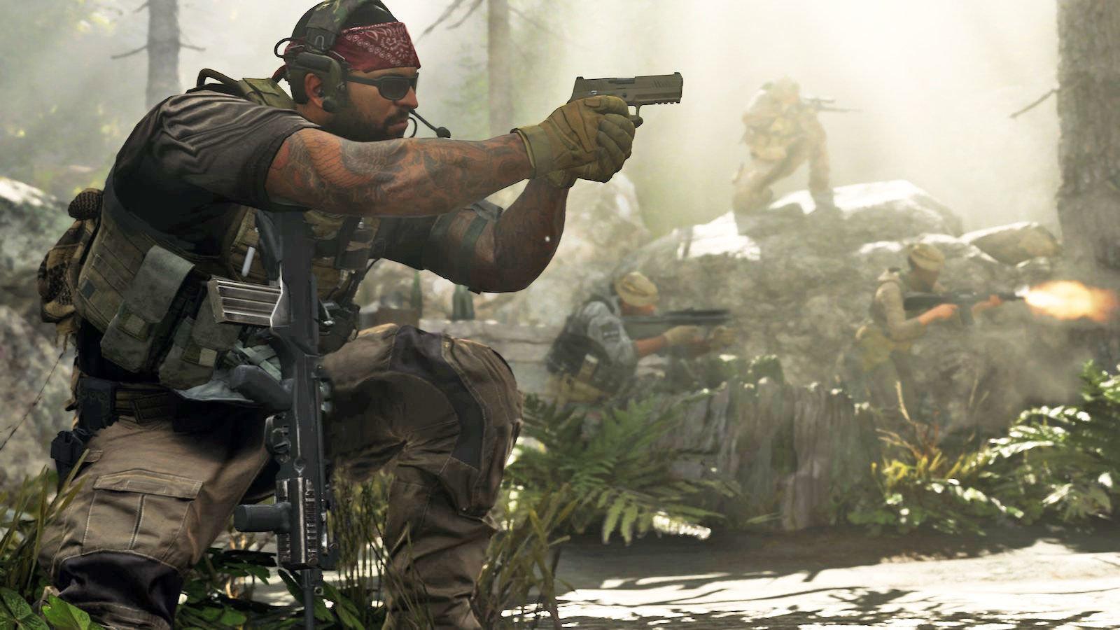 A weird glitch all but confirms Call of Duty: Modern Warfare's battle royale mode screenshot