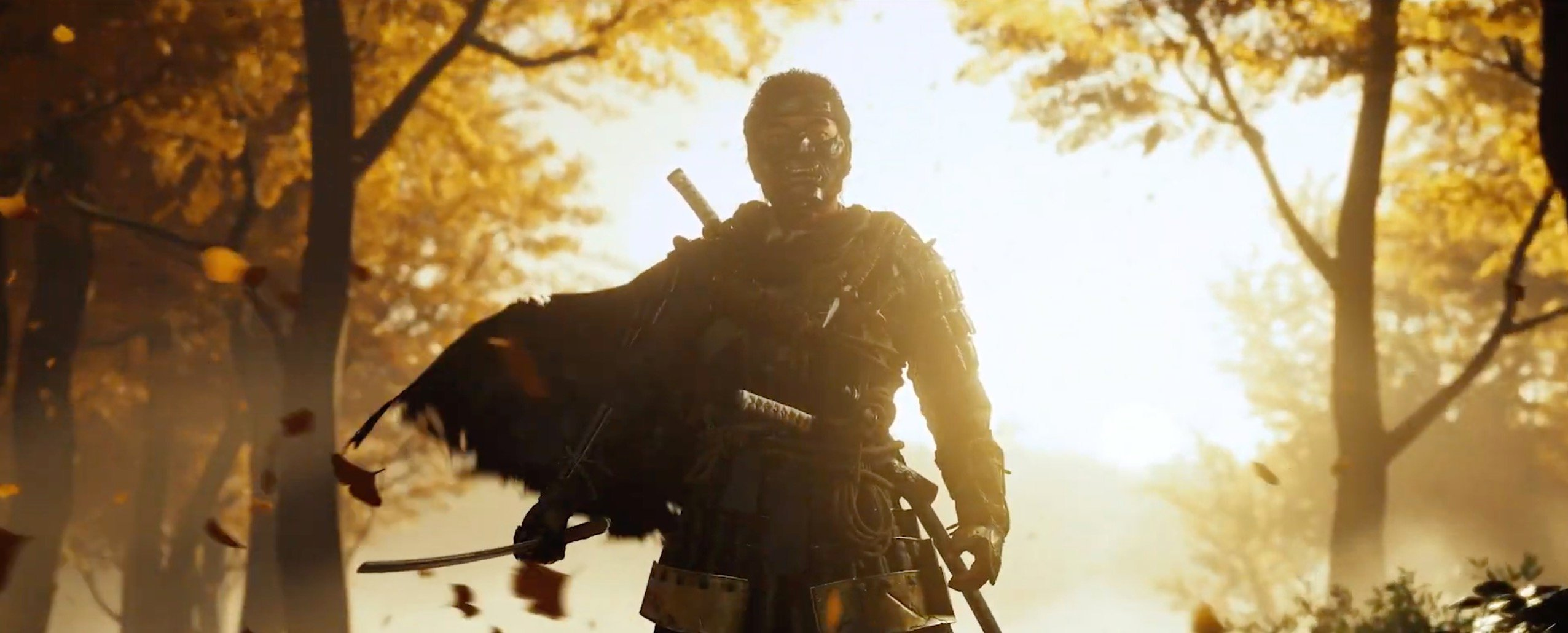 Sony showed exactly one more minute of Ghost of Tsushima screenshot