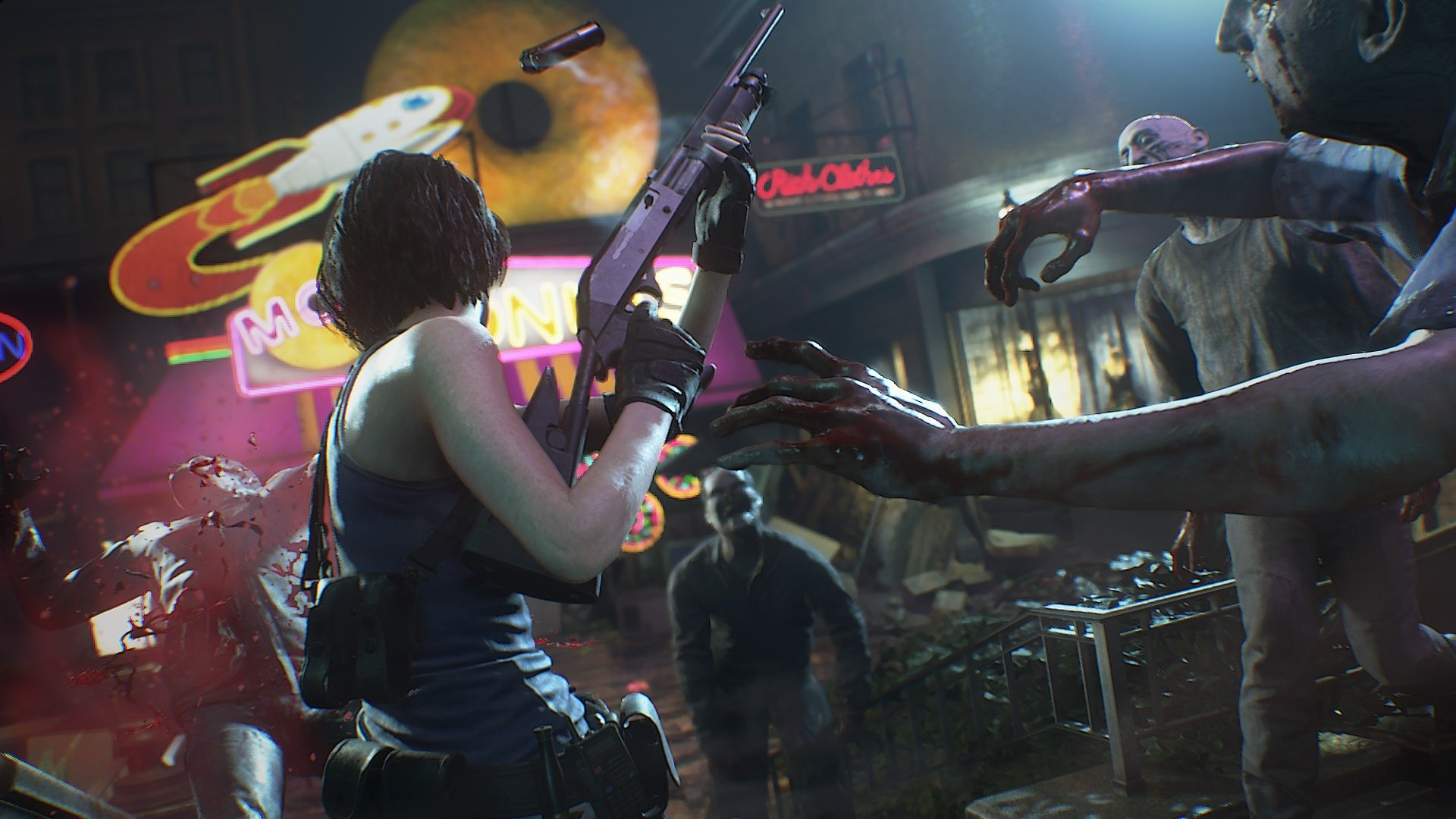 The Resident Evil 3 remake takes a lot of cues from Resident Evil 2 screenshot