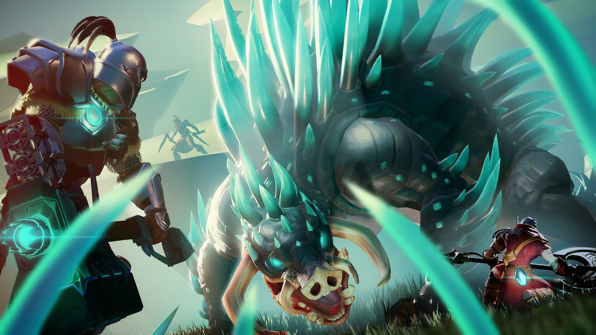 Dauntless is now on Nintendo Switch, complete with cross-play screenshot