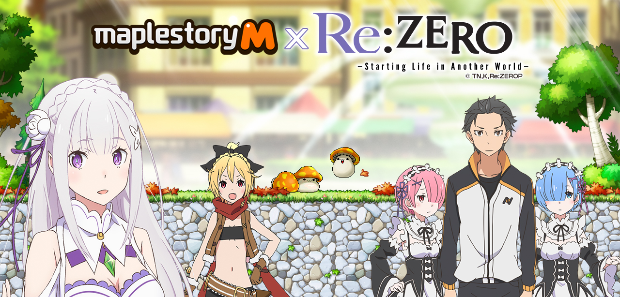 Giveaway: Take a MapleStory M key to celebrate its RE: Zero crossover