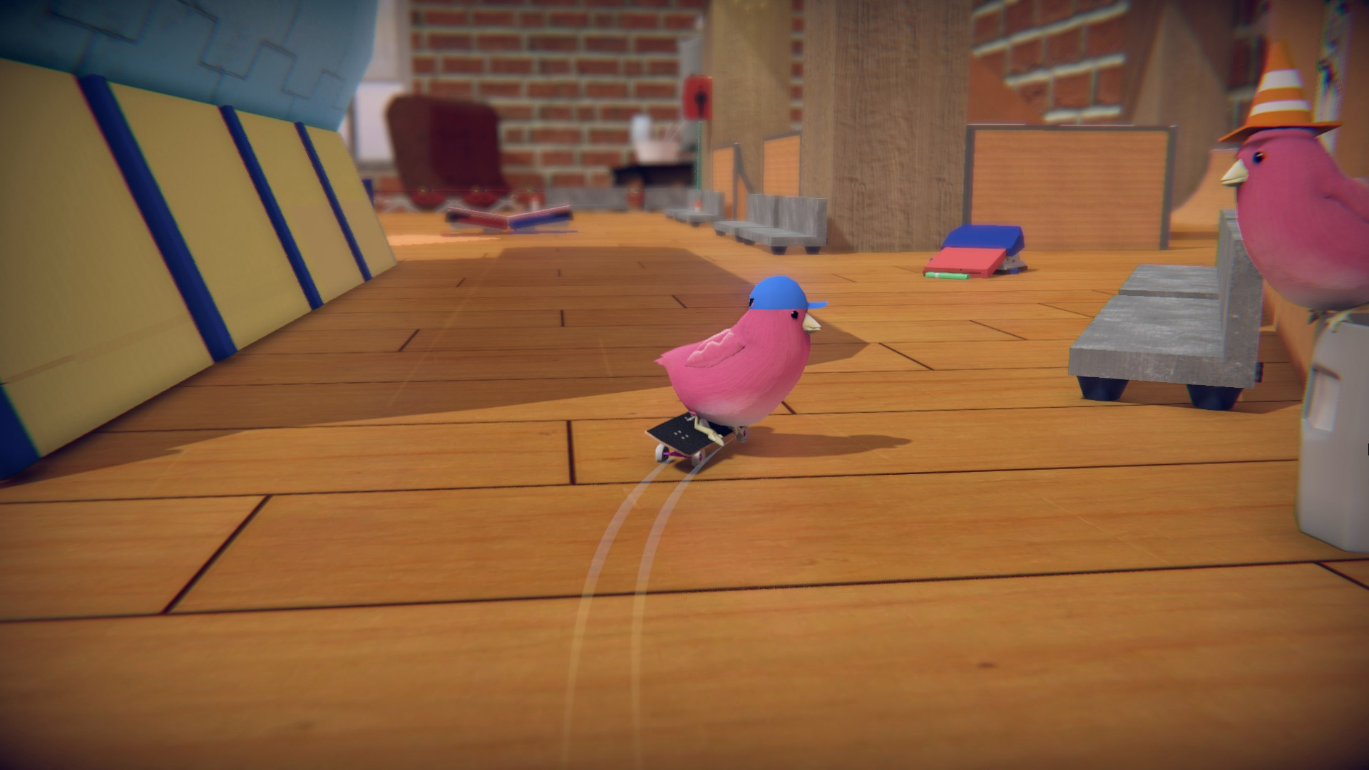 By this time next year, we'll be playing Skatebird on Switch screenshot