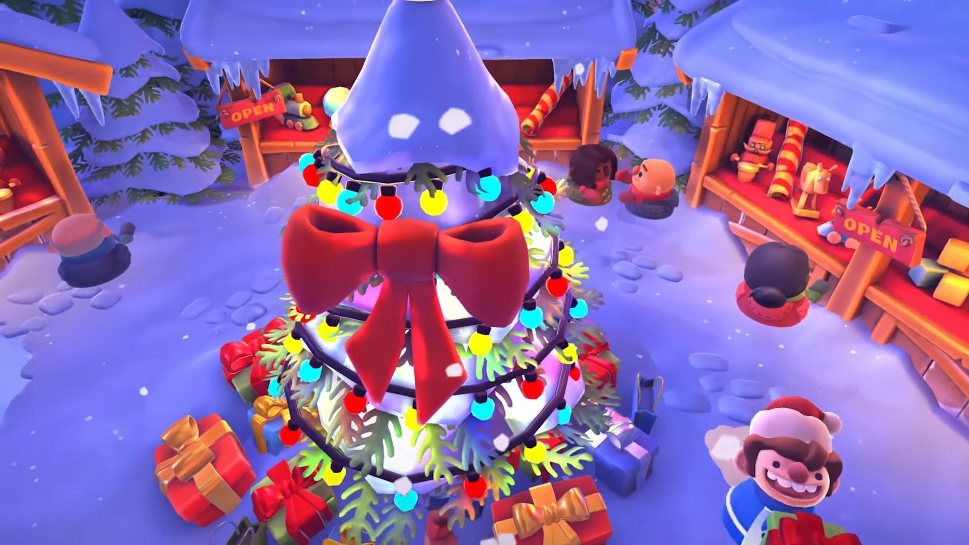 Overcooked 2 has a Winter Wonderland update for the holidays screenshot
