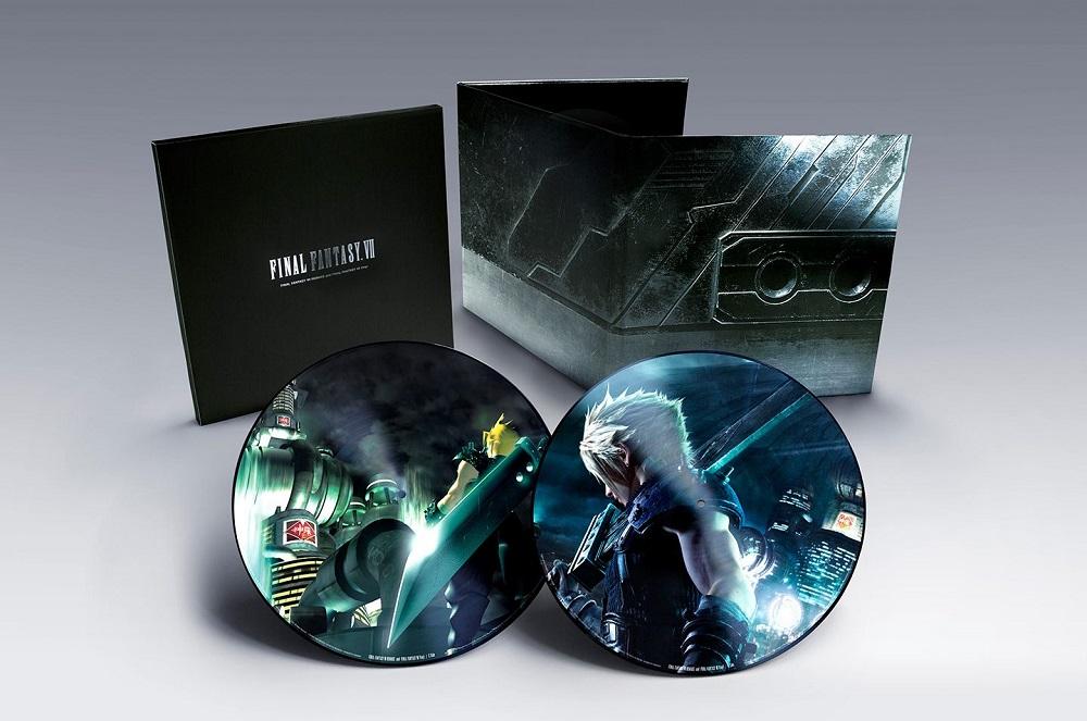Final Fantasy VII 7 Original Vinyl Record Soundtrack 2 LP Cloud Sephiroth Disc