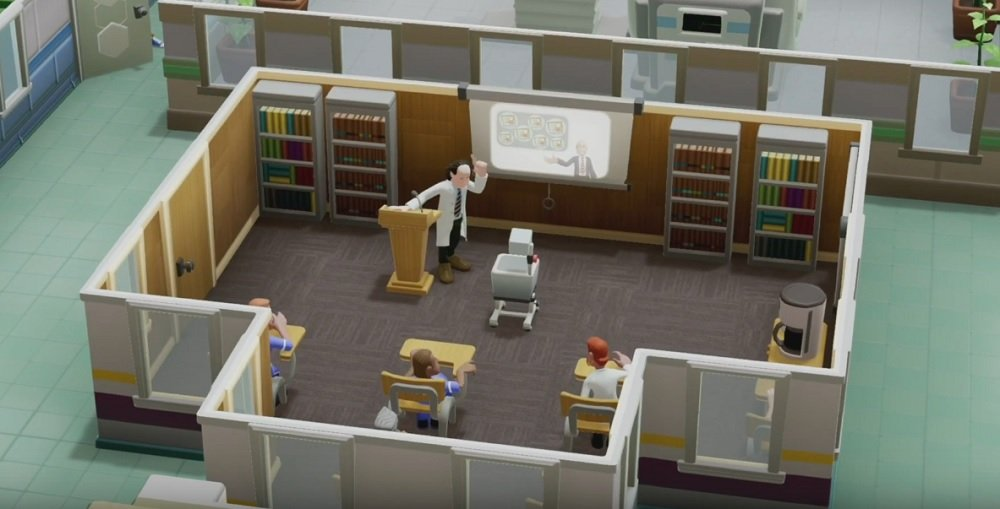 Two Point Hospital will finally launch on consoles February 25 screenshot