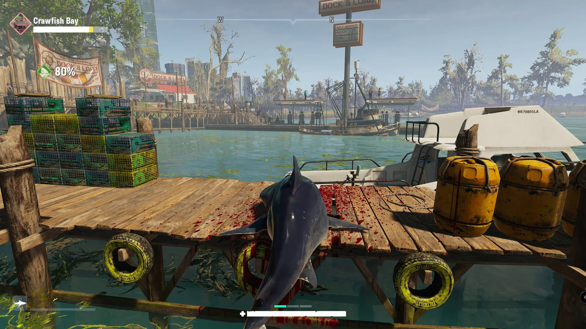 You're a hungry shark in Tripwire's Maneater, and humans are the tastiest snack screenshot