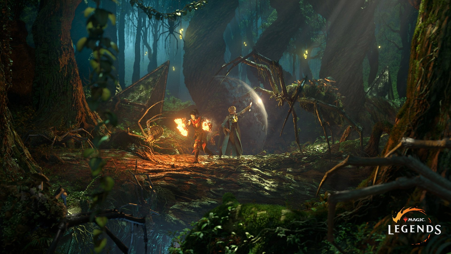 Magic: Legends is an MMO action-RPG about Planeswalkers screenshot