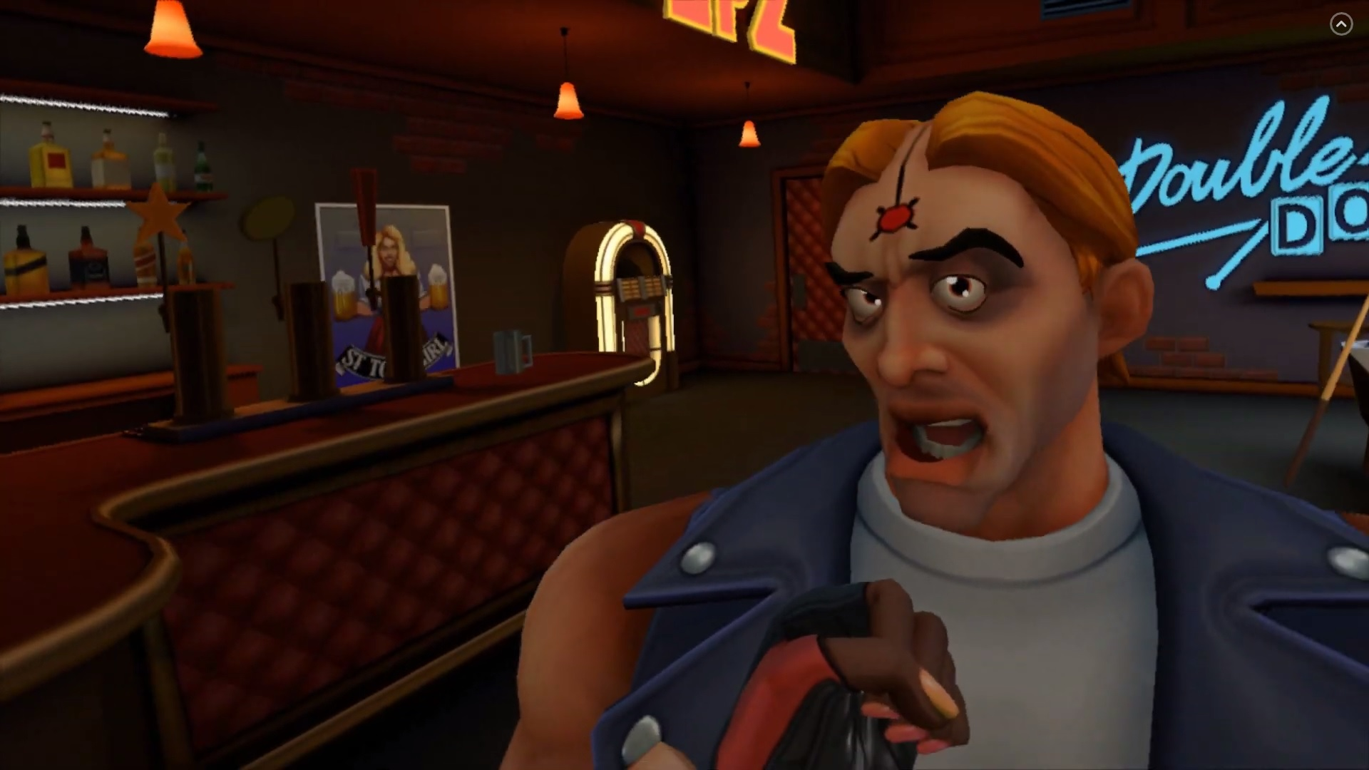Twisted Pixel is back with a VR brawler, and it's out right now screenshot