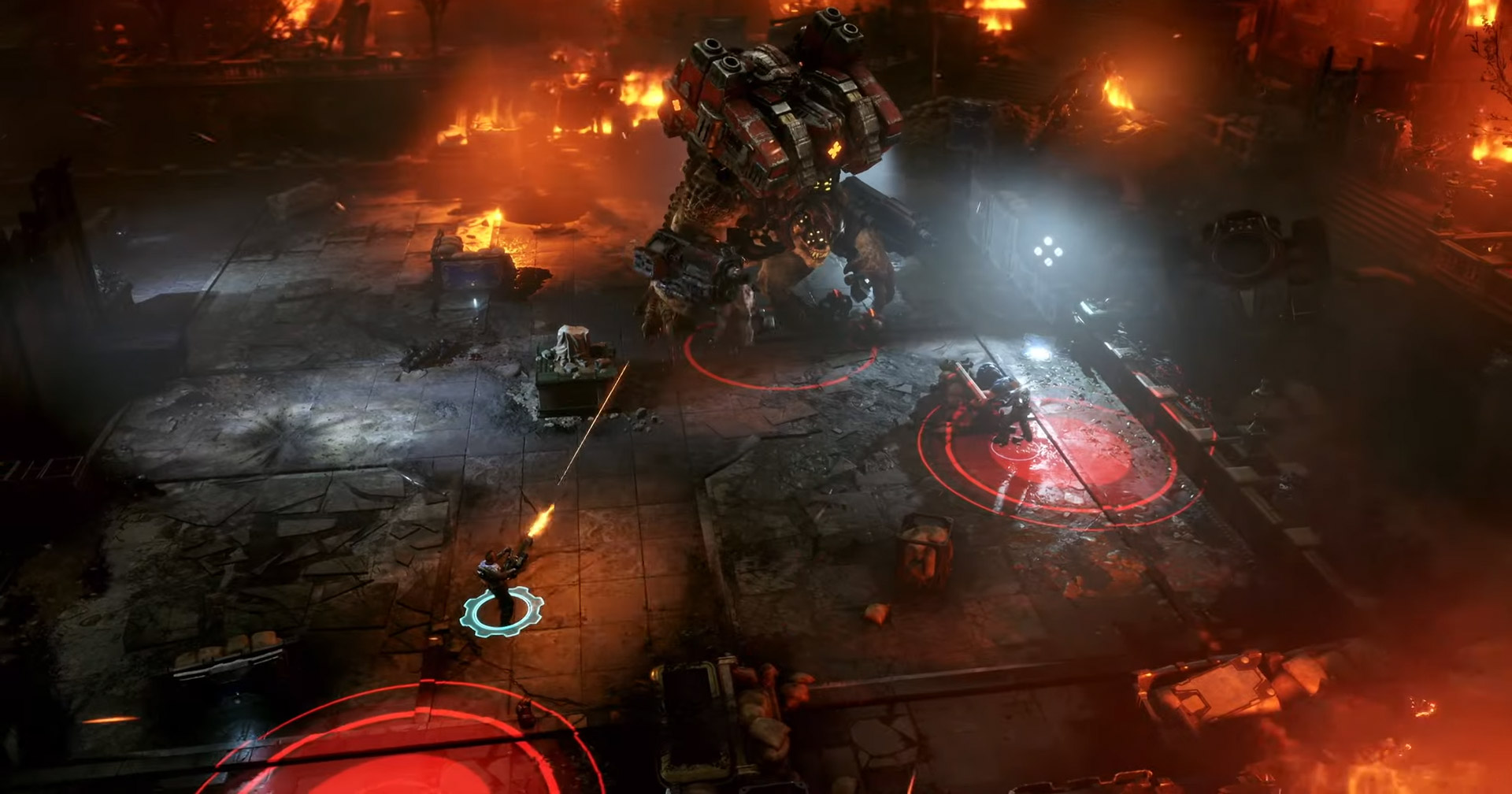 Gears Tactics, the Gears of War turn-based strategy game, is out next spring screenshot