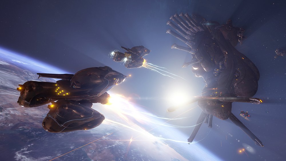 Warframe's Empyrean update now on PC; Rising Tides available on Xbox One & PS4 screenshot