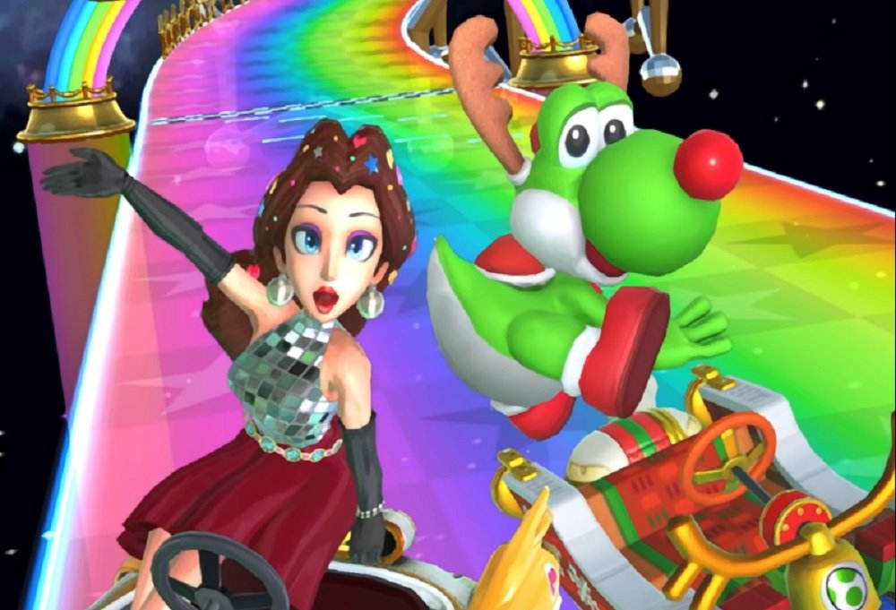 Mario Kart Tour Continues Holiday Theme With Party Pauline