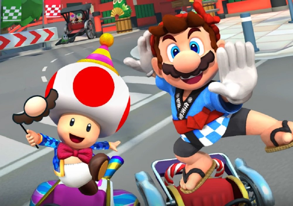 Mario Kart Tour Rings In The New Year With Character Skins
