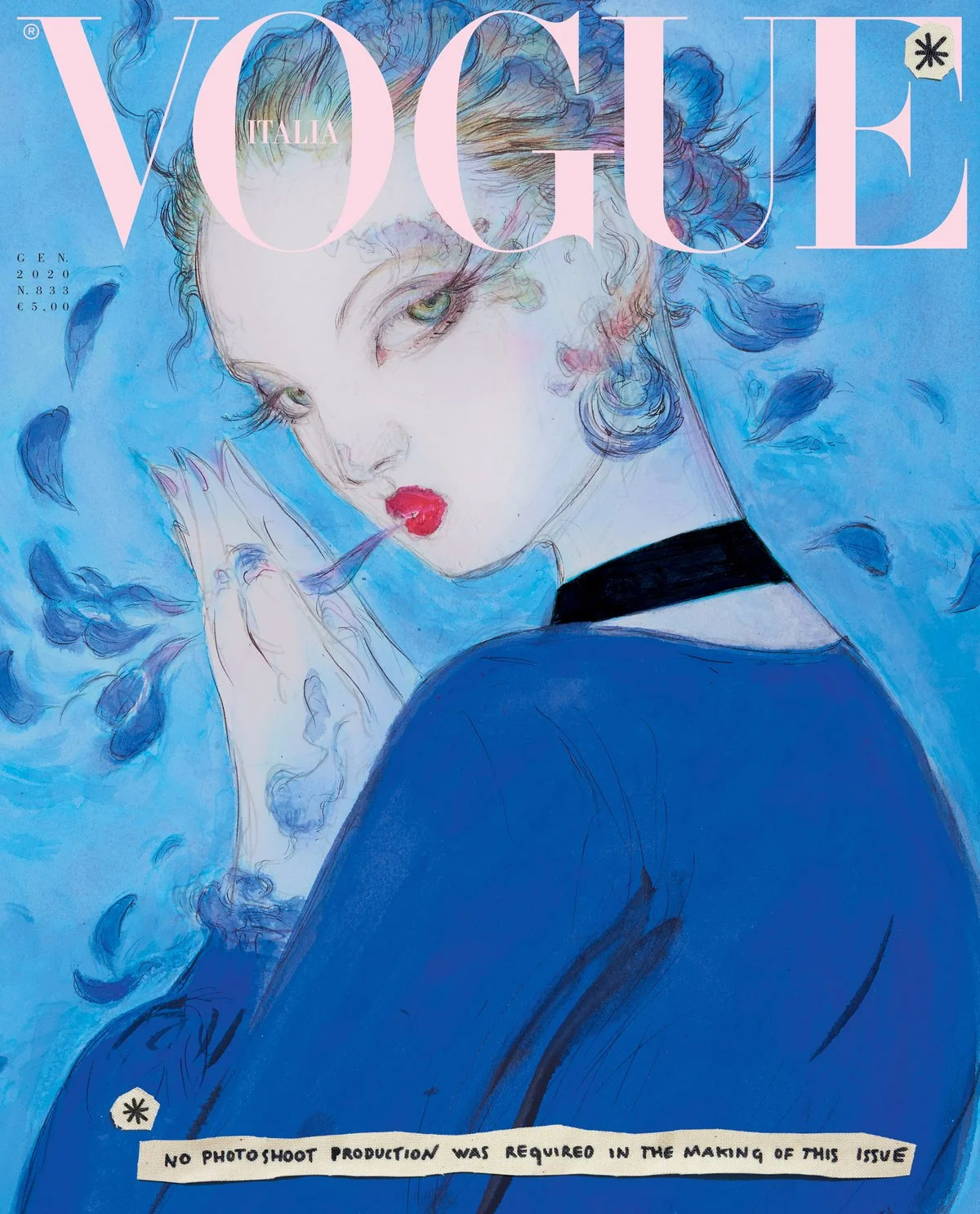LE GRAND FOURRE-TOUT - Page 22 Yoshitaka-Amano-Vogue-cover-full-size-noscale