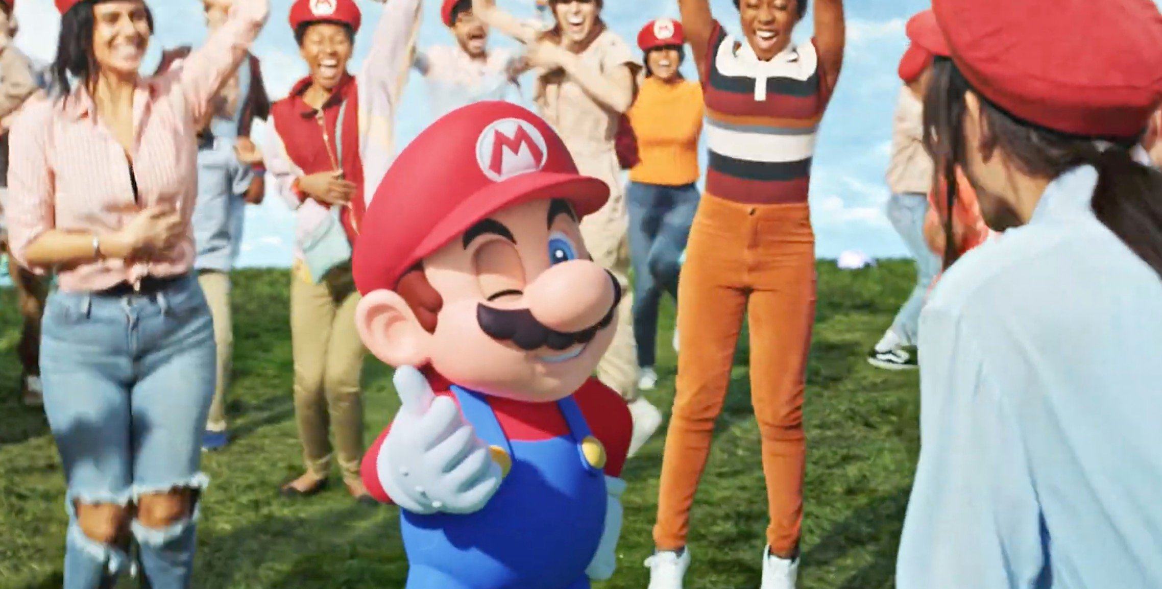 This music video has whet my appetite for Super Nintendo World
