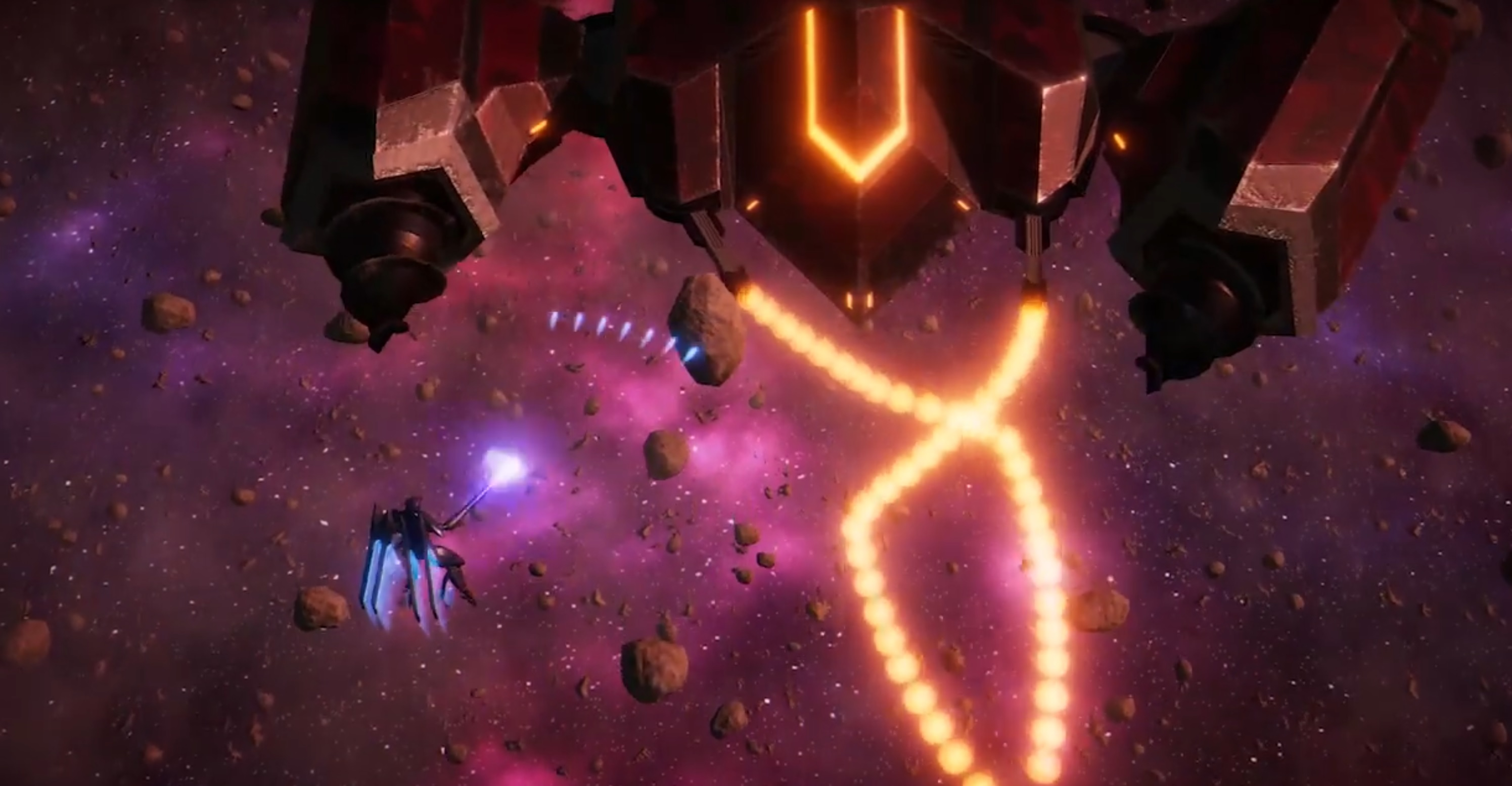 Project Aether is a Zone of the Enders-inspired shoot 'em up screenshot