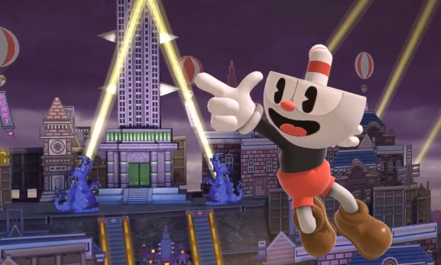 Cuphead and Assassin's Creed are invading Smash Ultimate in Mii form screenshot