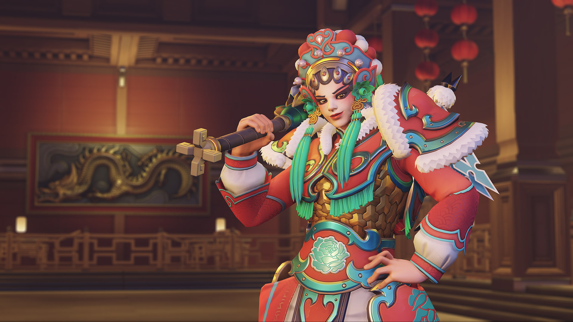 Overwatch has seven skins for Lunar New Year 2020 screenshot