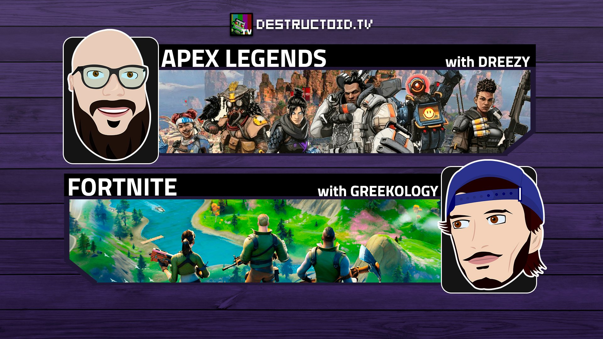 We're live again on Twitch this week with Dreezy and newcomer Greekology!