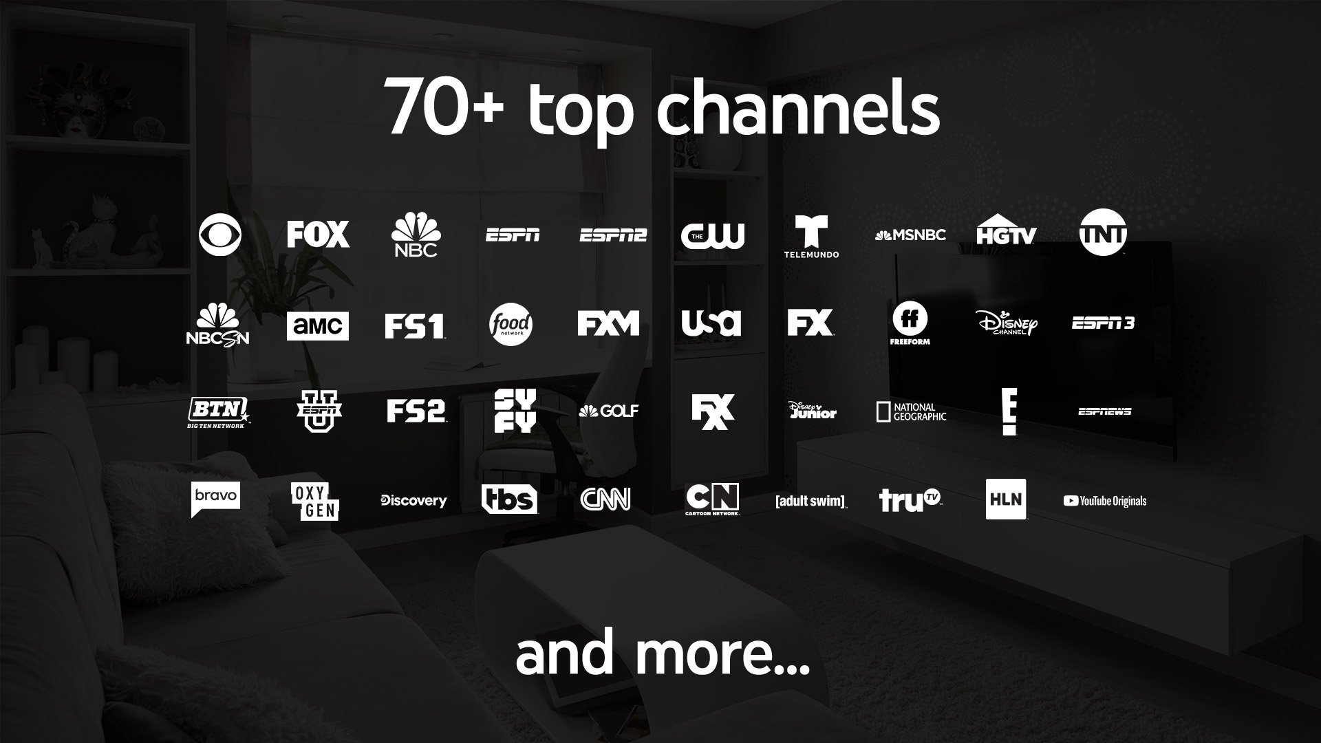 YouTube TV cable channels
